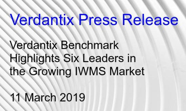 Verdantix IWMS benchmark