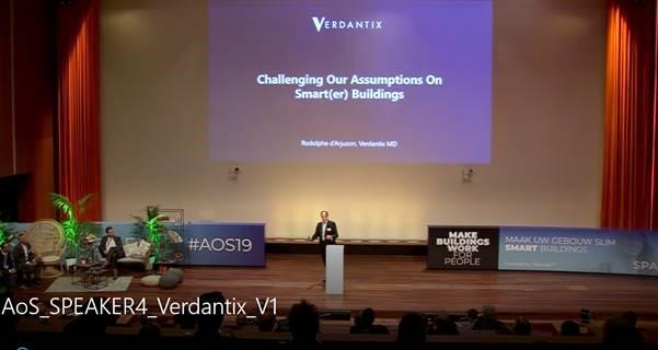 "Rodolphe d'Arjuzon, Verdantix – ""Challenging our assumptions on smart(er) buildingsʺ"