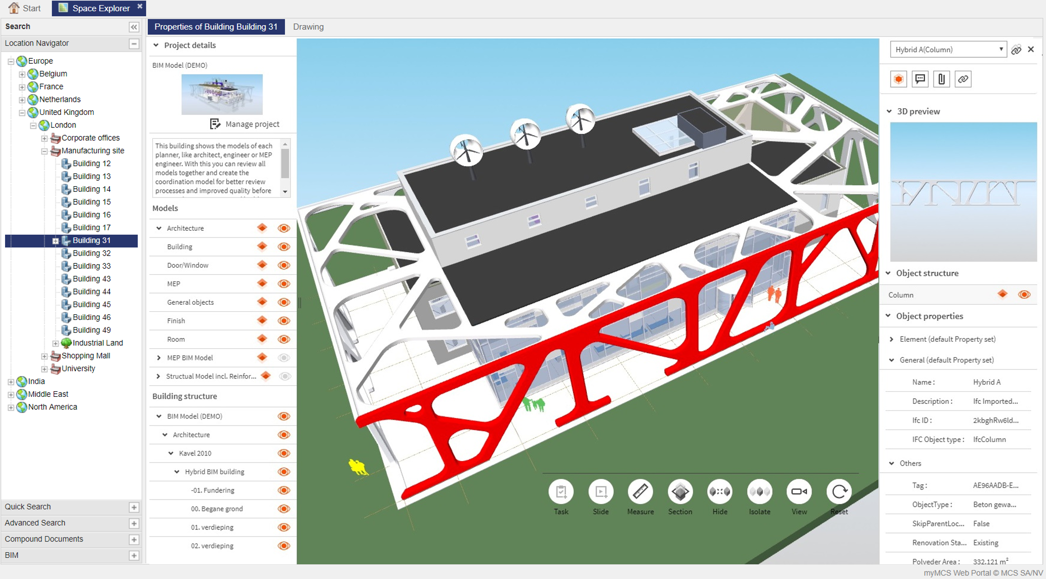 BIM screenshot