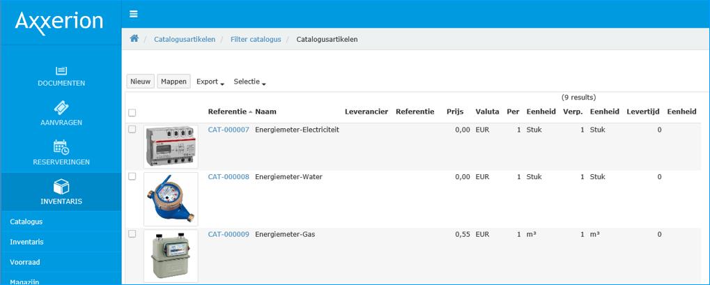 Energiemanagement Software: Überblick über die Energie-Infrastruktur