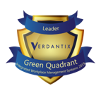 Spacewell leader in Verdantix Green Quadrant benchmark for IWMS
