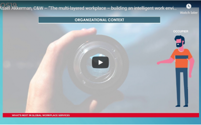 "Asaël Akkerman, Cushman & Wakefield – ""The multi-layered workplace – building an intelligent work environment"""