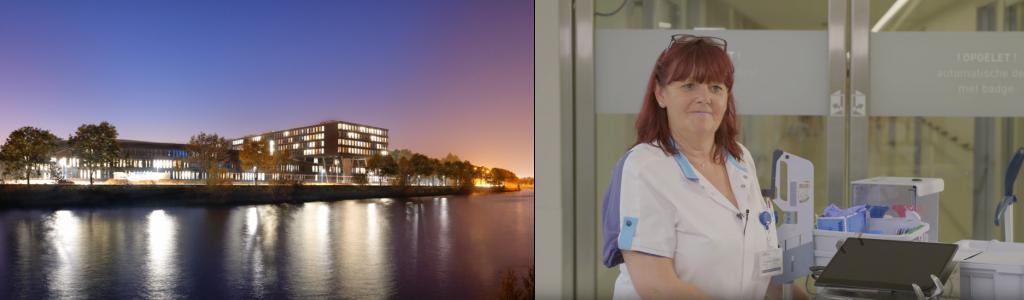Image showing nurse and hospital
