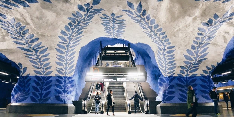 Das U-Bahn-System von Stockholm verwendet unsere Software für Immobilien-Prüfungen