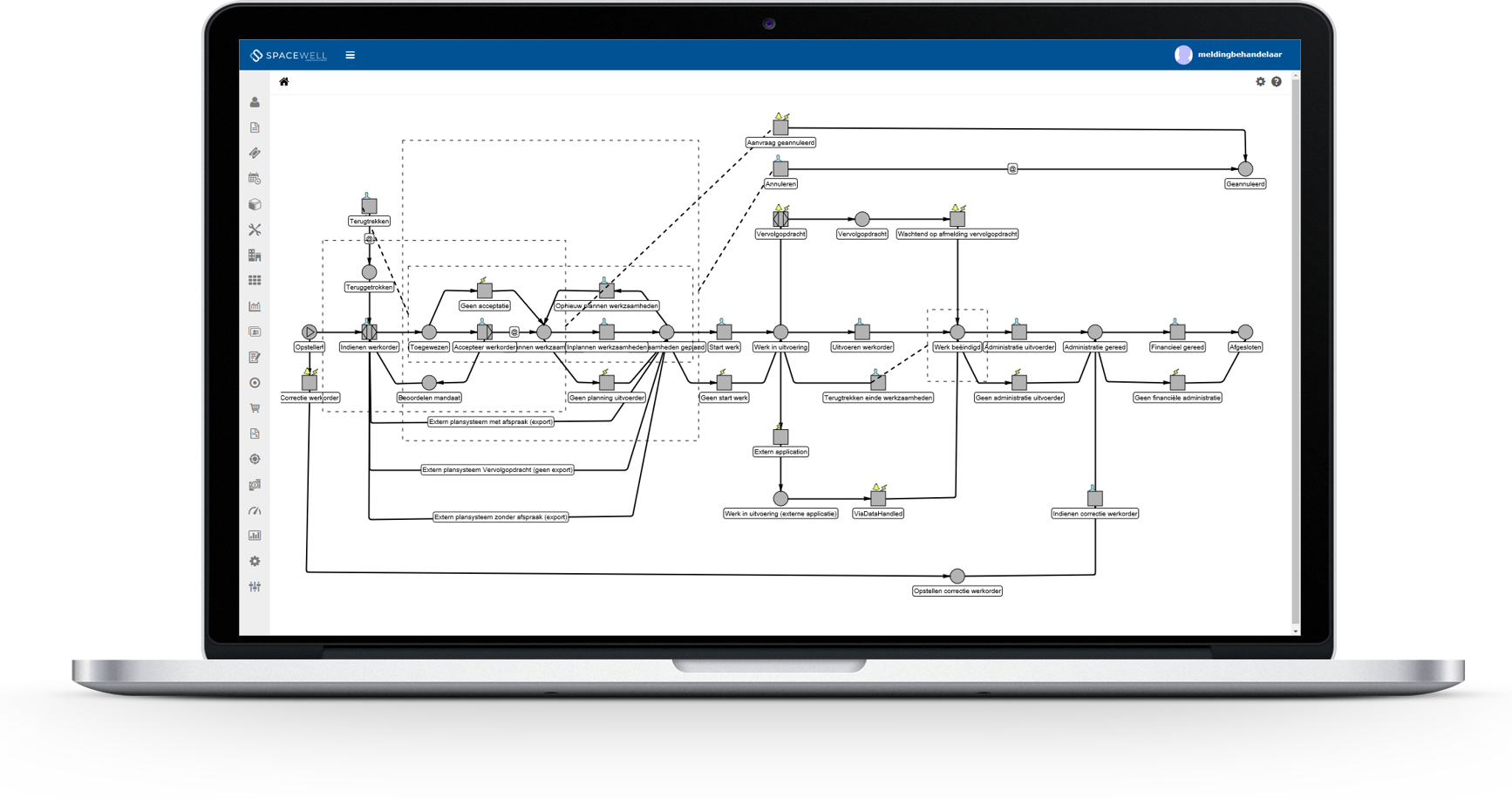Workflows screenshot