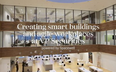 Creating smart buildings and agile workplaces at VP Securities