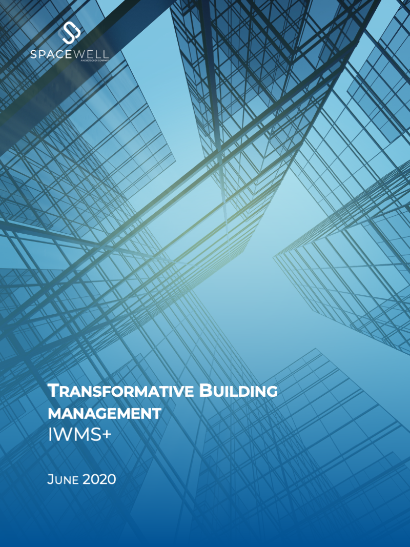 Transformative Building management IWMS+ white paper cover