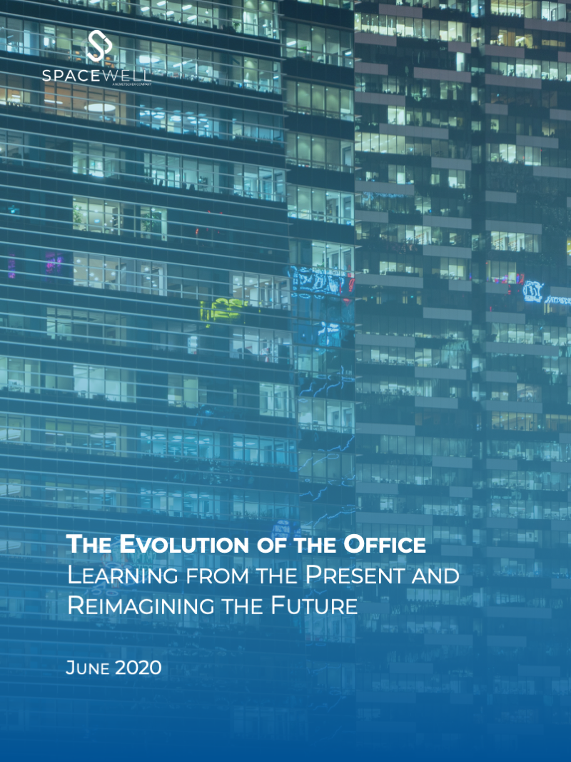 The Evolution of the Office Learning from the Present and Reimagining the Future white paper cover
