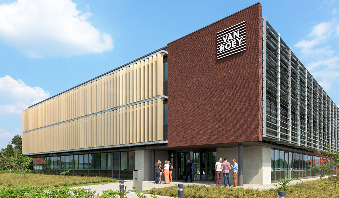 Construction company Van Roey Group and Van Roey Services: sustainable building management