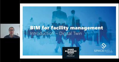 Webinar screenshot - BIM for facility management, for real