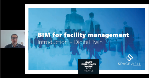 Webinar screenshot - BIM for facility management, for real