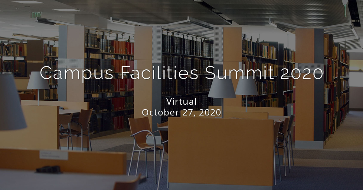 Campus Facilities Summit 2020