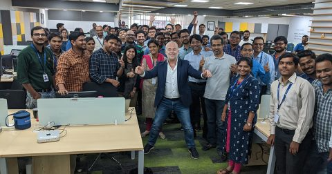 Spacewell India with CEO Eric Van Bael