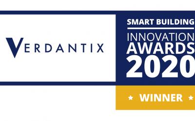 Verdantix awards: Top 10 Smart Building Innovators in 2020