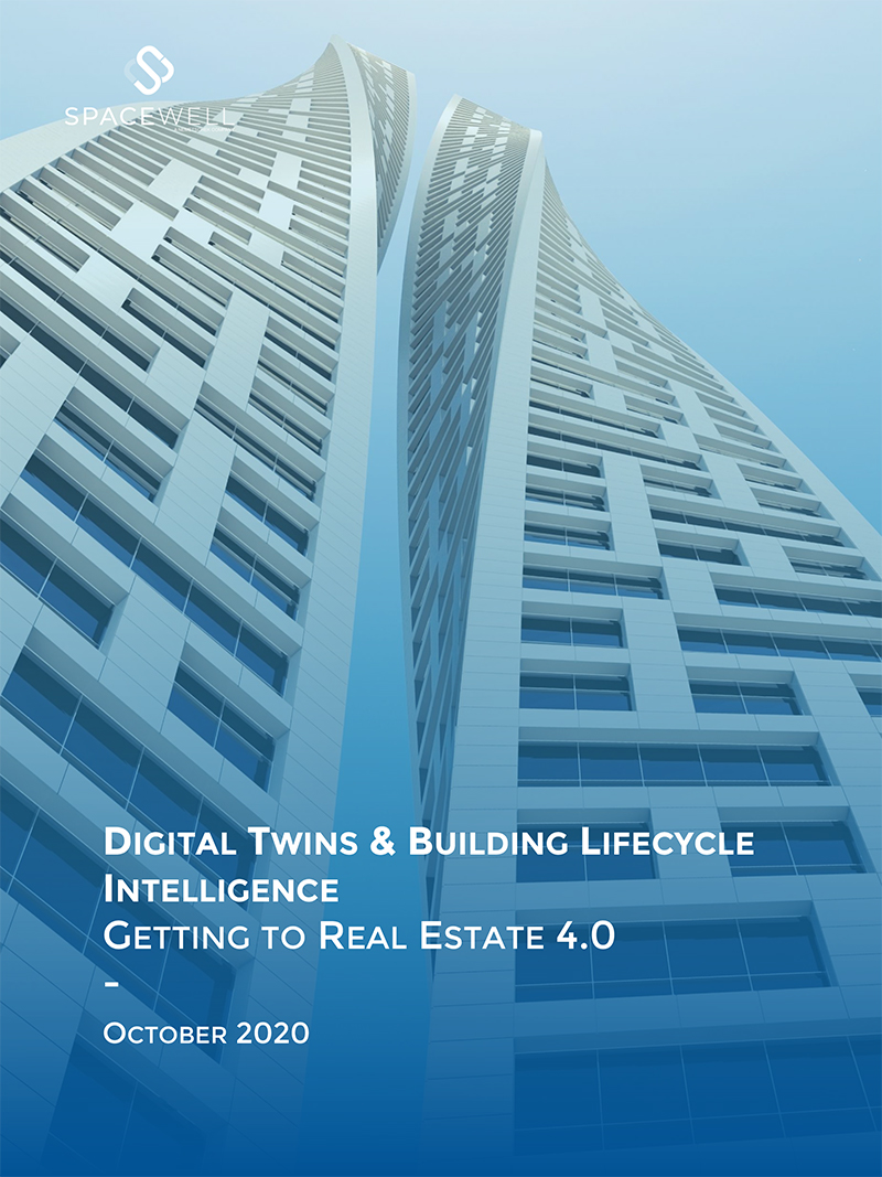 Digital Twins & Building Lifecycle Intelligence white paper cover