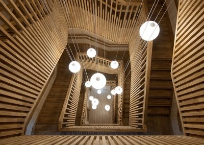 Accenture stairwell
