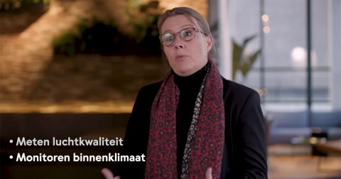 Facilitaire Trends 2021 Spacewell video thumbnail with Carina Van Den Heuvel