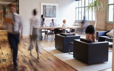 Hoteling, Hot-Desking, Flexible Seating,… [Hybrid Office Series #2]