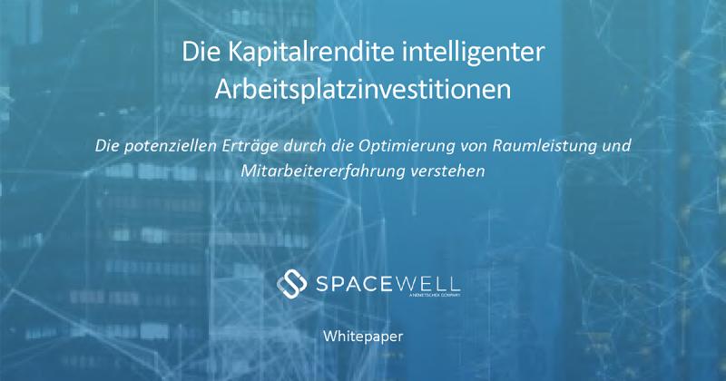 Whitepaper - Die Kapitalrendite intelligenter Arbeitsplatzinvestitionen - cover