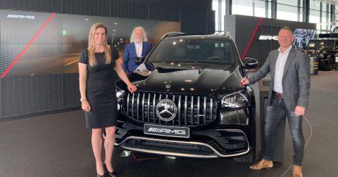 Mercedes-Benz  Dealer Bedrijven Spacewell Ambassador groepsfoto